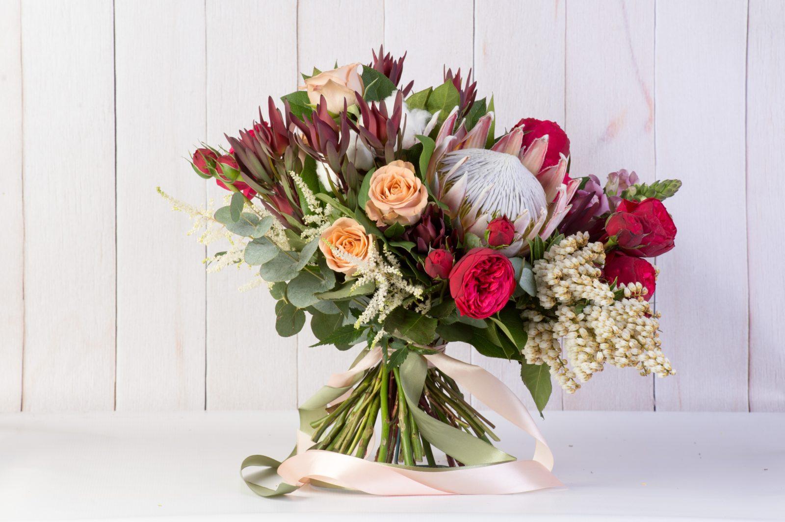 Цветов, элитные экзотических букеты фото